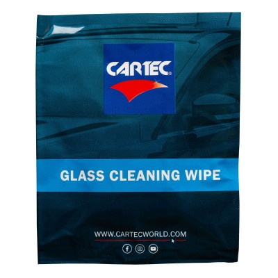 Glass Cleaning Wipe