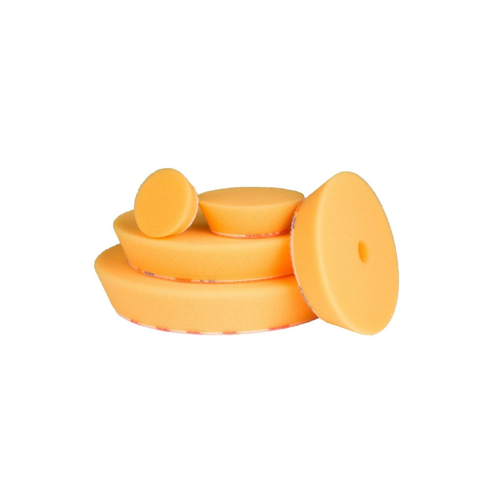 Refinish Polijstpad Foam excentrisch, medium, geel