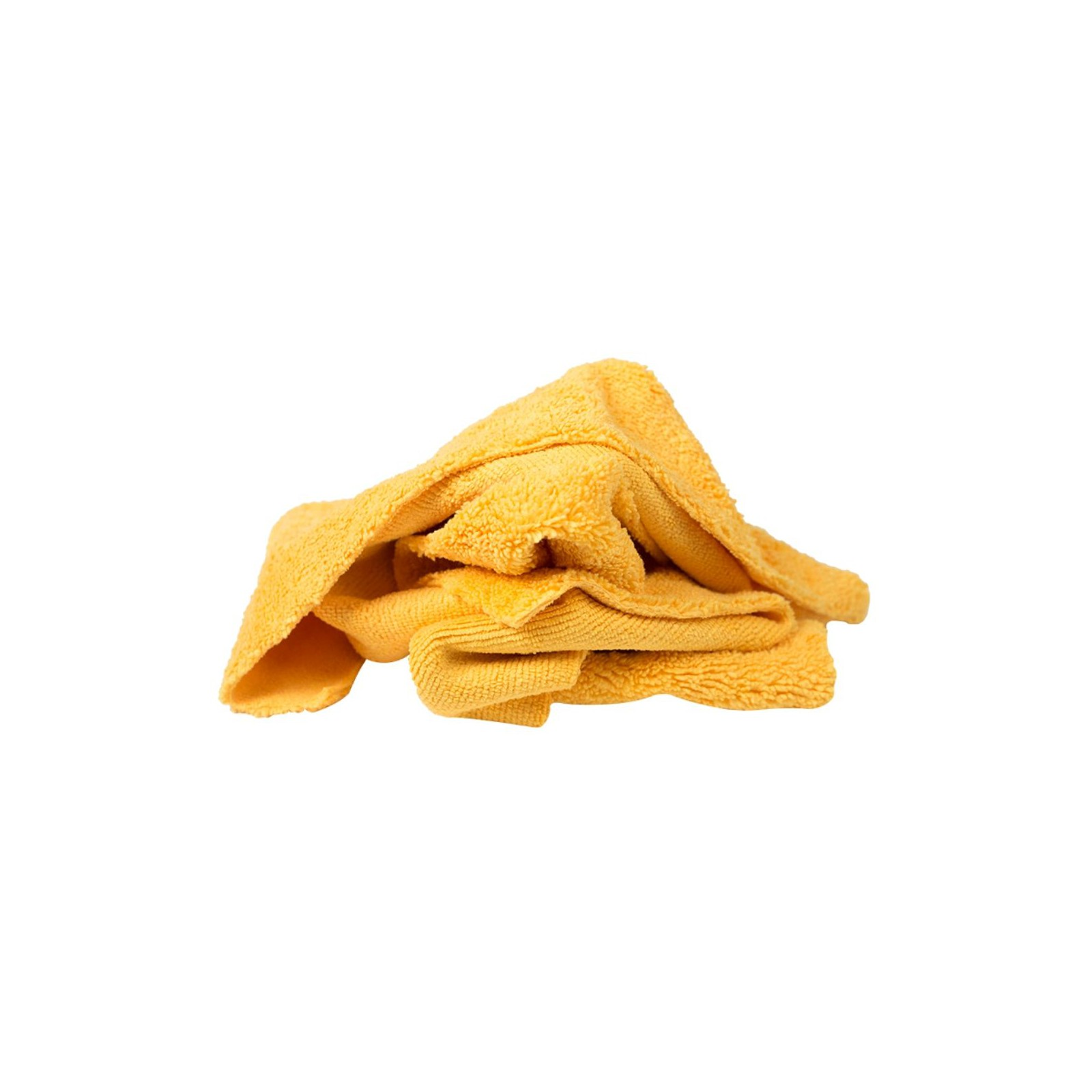 Microfiber Ultra-Soft Cloths - Yellow