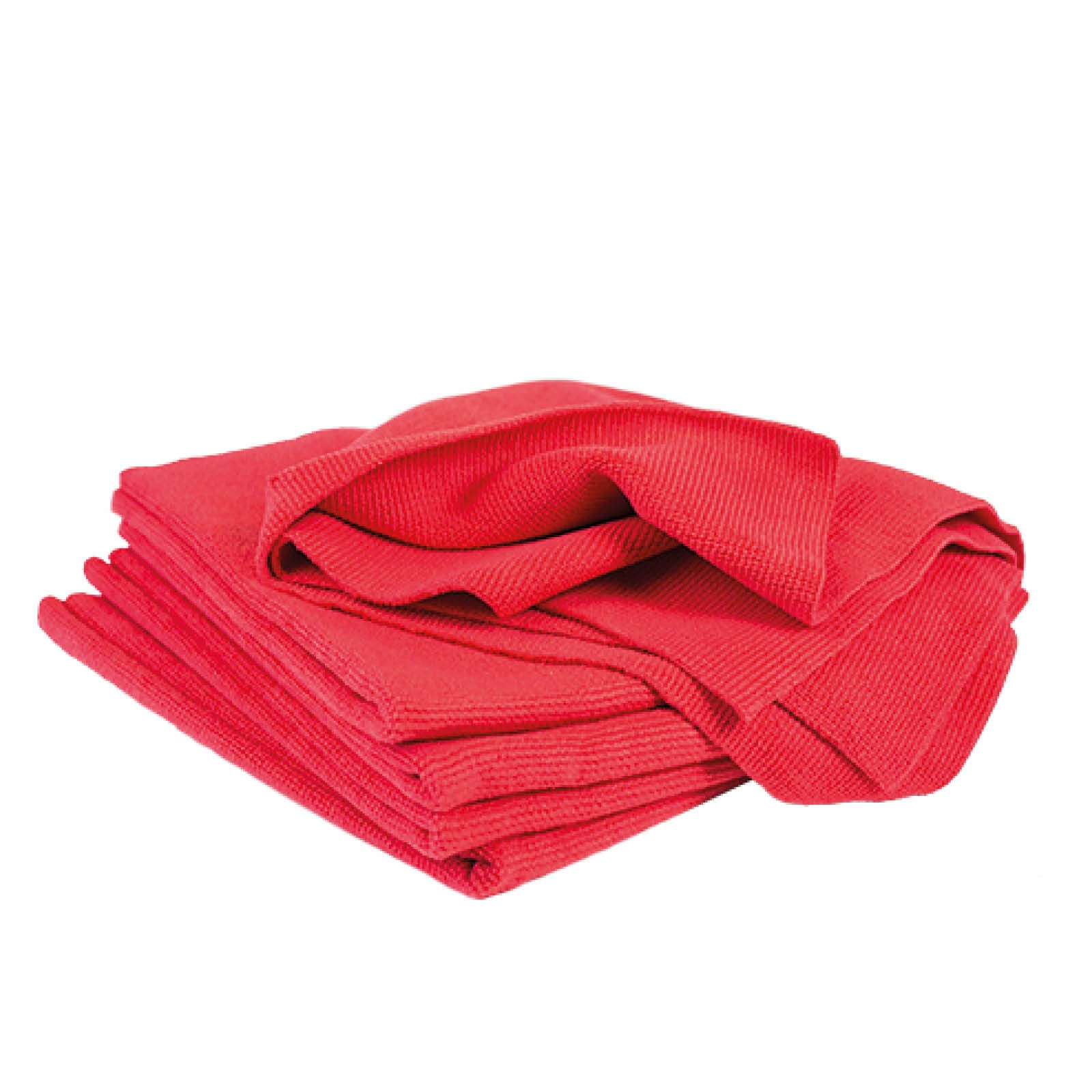 Microfiber Ultra-Soft Cloths - Red
