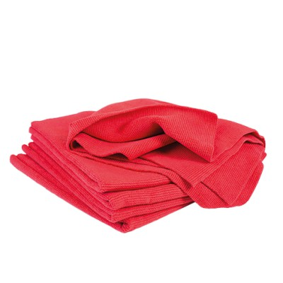 Microfiber Ultra-Soft Cloths - Red