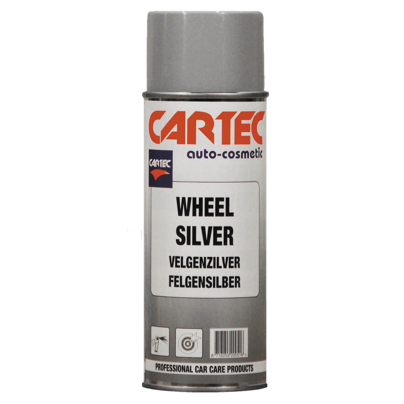 Wheel Silver Spray